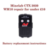 Minelab CTX 3030 WM-10 repair